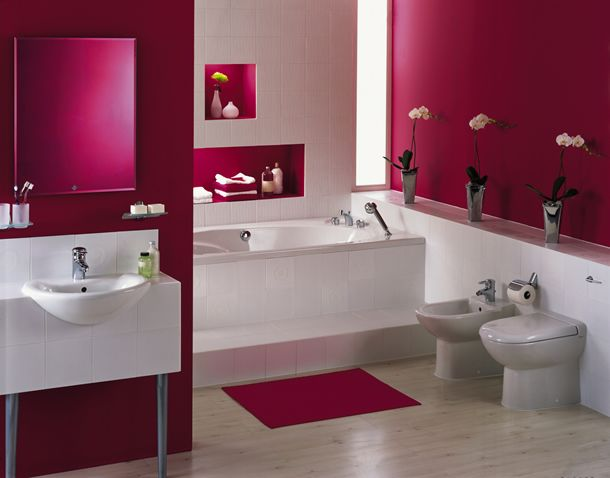 Tips for Decorating your Bathroom | candy hearts blog