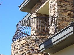 steel balcony