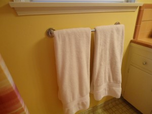 towel hang